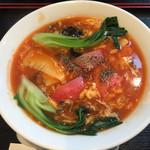 58235296 - 《トマト野菜広東麺》840円(税抜)                       2016/10/18