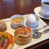 ブーランコ - 料理写真:ブレンドコーヒー390円とモーニング(一例)