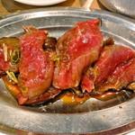 ジビエノ小屋 - ジンギスカンランチの肉