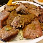 ジビエノ小屋 - 羊肉と姫ハブとカレー