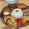 ピノ ノワール - 料理写真:インドカレープレート