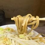 ラーメン二郎 - 690円『小ラーメン』+80円『汁無し』(ニンニク野菜マシ)2016年11月吉日