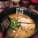 甲子園ラーメン - ピリ辛醤油ラーメン(750円)