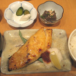 伊豆の旬 やんも - むつ西京焼定食