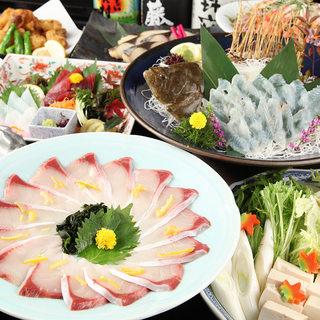 【飲み放題付き宴会コース】月替わりのコースは4980円~