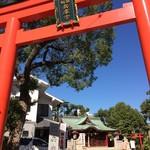 まごころ 手と手 - おまけ・すぐ斜め向かいに生田神社兵庫社があります