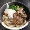 桃山亭 - 料理写真:肉ぶっかけ冷(*´д`*)420円