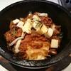 上杉 - 料理写真:月替わり石焼きビビンバ(951円) 牛タンのトマト煮石焼きビビンバ