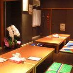 韓国料理居酒屋 ちぃーちゃん - お座敷1