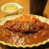 西洋の台所HAMA - 料理写真:カツカレー大盛