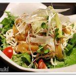 58318422 - 蒸し鶏と押し豆腐の四川風サラダ