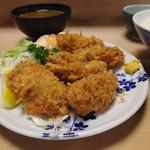 58324867 - カキフライ定食(2016/10)