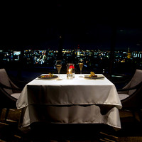風情ある京の夜景を望む優雅な時間