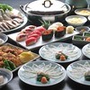 旭鮨 - 料理写真:ふぐ鍋すしコース