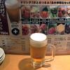 品川ひおき - ドリンク写真:ドリンクセット750円のビール