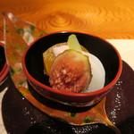 本城 - 柿、蕪、無花果 豆腐・胡桃白和え