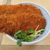 上里サービスエリア 下り スナックコーナー - 料理写真:姫豚わらじかつ丼