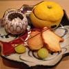祇園にしむら - 料理写真:八寸は乾山写し『竜田川』