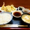 紀乃善 - 料理写真:天ぷら定食(上)