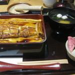 銀座ひらい - いかだ(2200円)+肝吸い(300円)