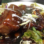 一創 - 豚バラの黒酢の酢豚