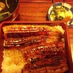 よし川 - うな重1680円