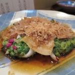 さく田 - 山芋の九条ネギ焼