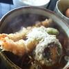 蕎麦酒房 天山 - 料理写真:海老天そば