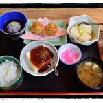 お食事処 もとだき - 豆腐料理 四品定食