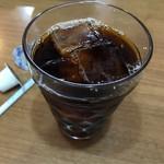 四海鮮樓 - 日替りランチのアイスコーヒー
