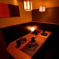 和モダン溢れる個室空間