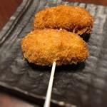 魚串さくらさく - 2016 牡蠣フライ串