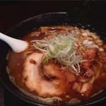 らー麺山之助 - 料理写真:魚だし白湯麺