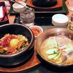 シジャン - 石焼きビビンバと冷麺のセット