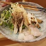 いっちゃん - 松茸とハモの鍋2700円
