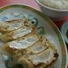 もっこす - 料理写真:餃子・ライス