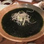 鱈腹魚金 - 青のり豆腐