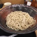 ウエスト - 【2016.10.16】どデカイ器に盛られた蕎麦(2玉)