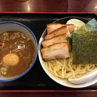 甍 - 料理写真:特製 濃厚にぼしつけ麺 大(300g)