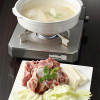 国産合鴨と高級食材衣笠茸の鍋\(^_^)/♪