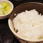 竹や - 白御飯