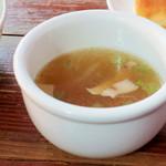 chug-a-lug - スープもつきます。 (^∀^)ノ