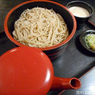 佐久の草笛 - 料理写真:雷電そば(甘口)