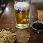 ホルモン俵屋 - 生ビール~☆