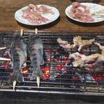 谷間そば - 料理写真: