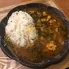バキン - 料理写真:砂ずりとチキンのカレー