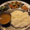 サンサール - 料理写真:ランチのネパールセット♪