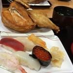 58458809 - 若鶏寿司セット