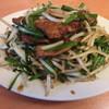 上海港 - 料理写真:ニラレバ炒め定食800円