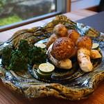 柚木元 - 料理写真:今日の主役、松茸
